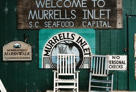 Murrells Inlet, Russell's signs