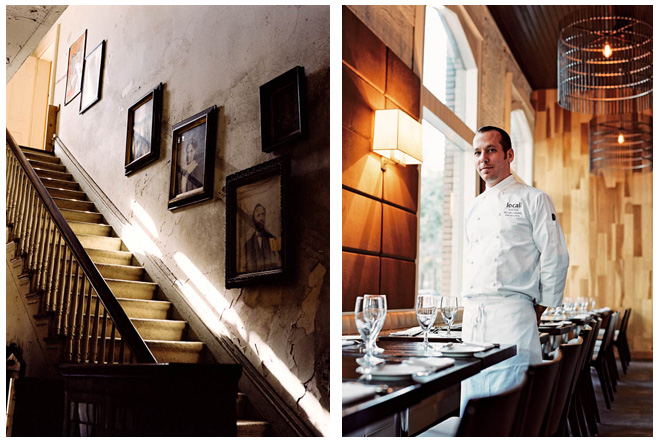 Savannah stairs, Chef Jeff Rodgers
