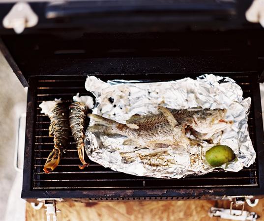 grill dinner