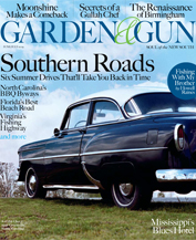 Garden & Gun June 2009 cover