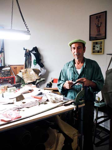 Craftsman, Spoleto, Itay. By Sandy Lang, June 2011